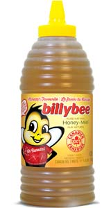 Liquid White Honey (Large Beehive Squeeze Bottle)