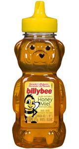 Billy Bee Liquid White Honey (Bear Bottle)