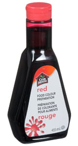 Red Food Colour Preparation