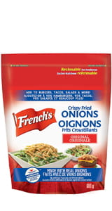 FRENCH'S FRIED ONION CRUNCHY TOPPERS