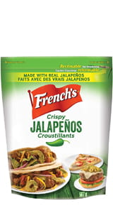 FRENCH'S JALAPEÑO CRUNCHY TOPPERS