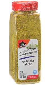 Garlic Plus Seasoning