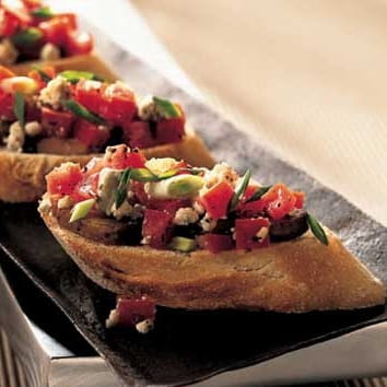 Bella Blue Cheese Bruschetta