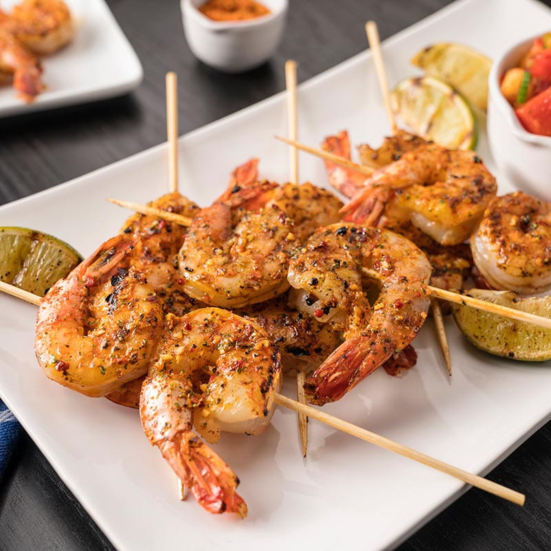 Brazilian BBQ Shrimp