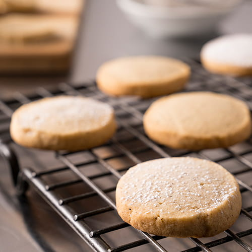 Spiced Brown Sugar Short Bread Cookies