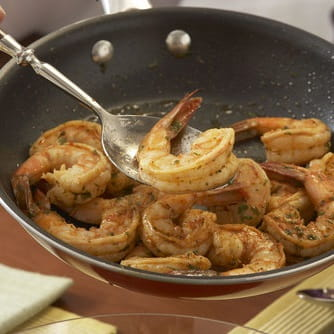 Shrimp with Garlic Butter