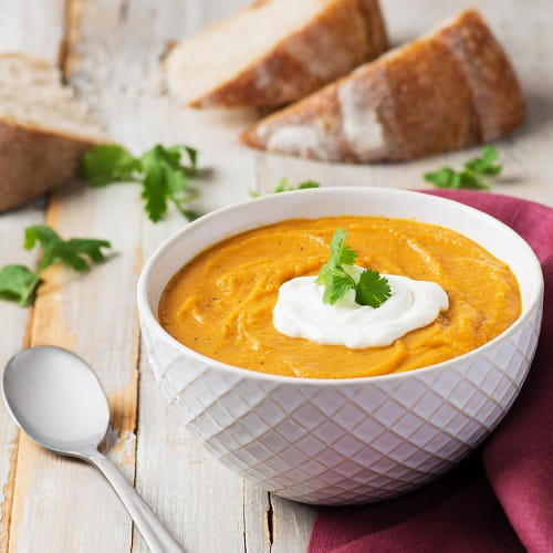 Cajun Sweet Potato Soup