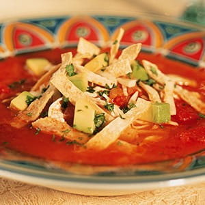 Cajun Chicken Tortilla Soup