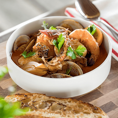 Cioppino with Old Bay Seasoning