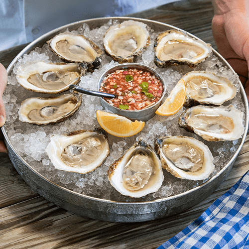 Old Bay Mignonette Sauce