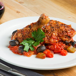 Grilled Chicken Cacciatore with Smoked Applewood Seasoning