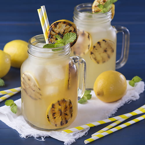 Honey-Infused Grilled Lemonade