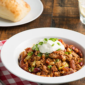Smouldering Smoked Applewood Cowboy Chili