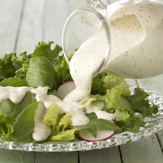 Creamy Goat Cheese Salad Dressing