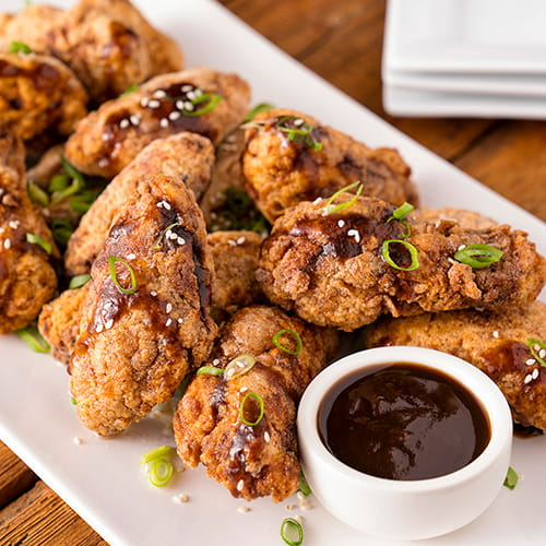 Crispy Spicy Tamarind  Chicken Wings
