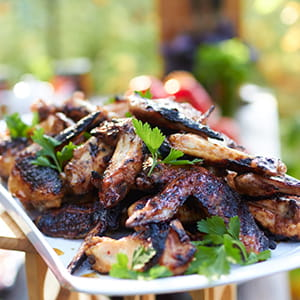 Honey Grilled Wings