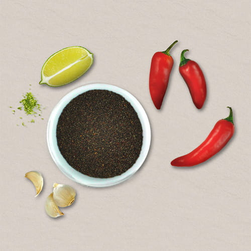 Chia Seeds with Citrus, Chili and Garlic Blend