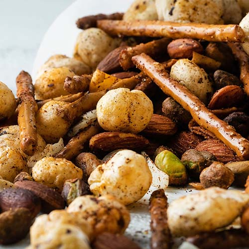 Cajun Puffed Lotus Seed Snack Mix