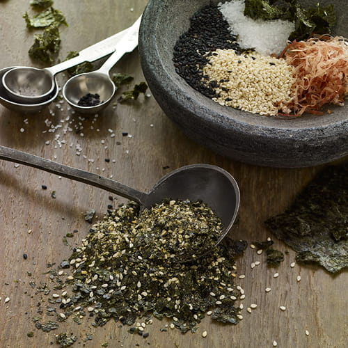 Homemade Japanese Furikake Seasoning