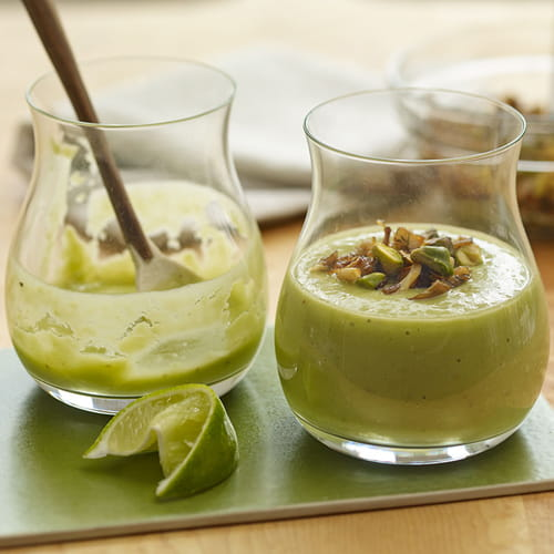 Smoky Avocado & Mushroom Drinkable Soup