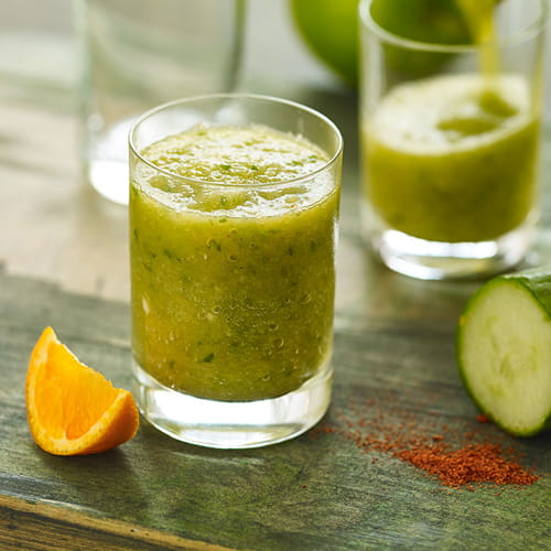 Spiced Cucumber & Apple Morning Shooter