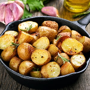 Garlic and Rosemary Potatoes