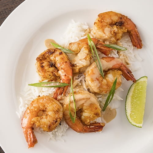 California Shrimp Stir Fry