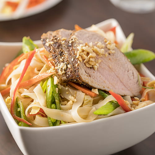 Thai Pork Noodle Salad