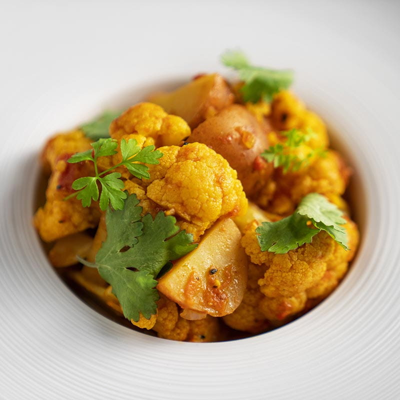 Aloo Gobi - Potatoes and Cauliflower