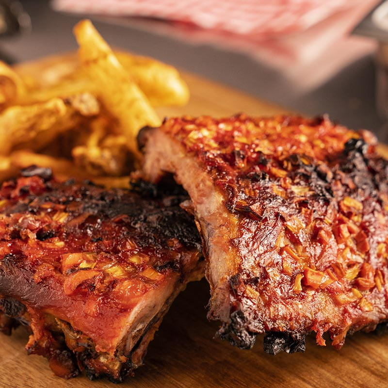 Honey Harissa Ribs
