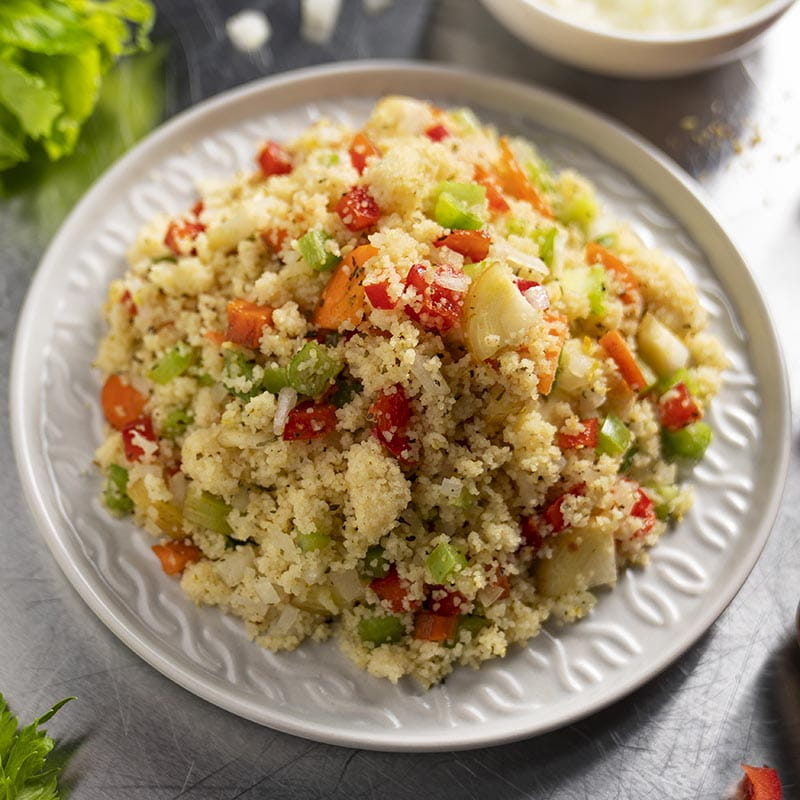 Lemon and Herb Vegetable Couscous