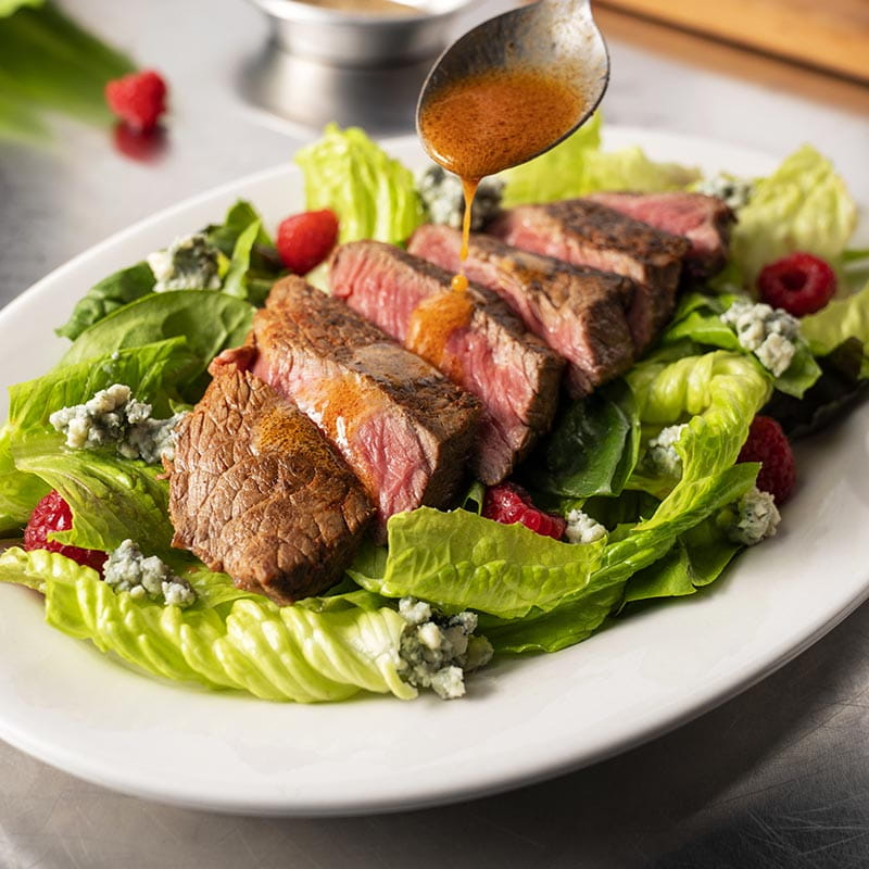 Sirloin Salad with Smoky Paprika Dressing