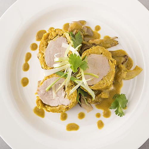 Green Curry Sous Vide Pork Tenderloin