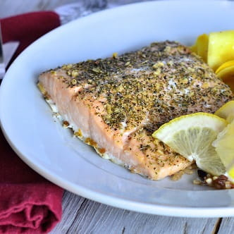 Grilled Lemon and Dill Salmon