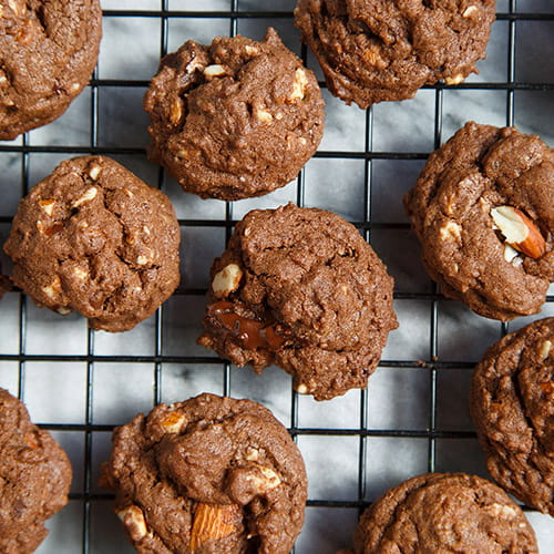 Coconut Chocolate Chunk Cookies