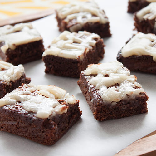 Honey Cocoa Squares