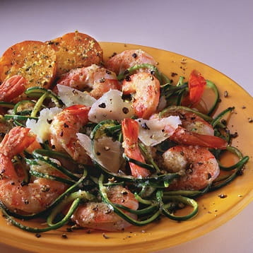 Lemon and Herb Pesto Shrimp Salad