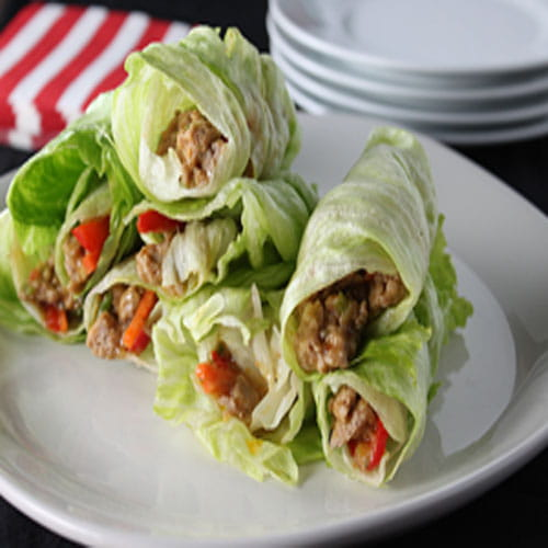 Maple Bacon Lettuce Wraps