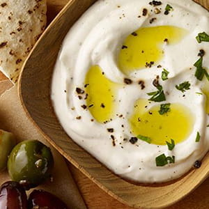 Garlic Pepper Labneh