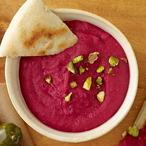 Roasted Beet and White Bean Dip