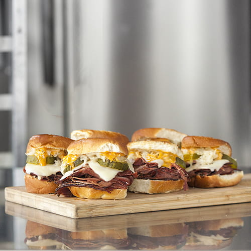 Curry Reuben Sliders