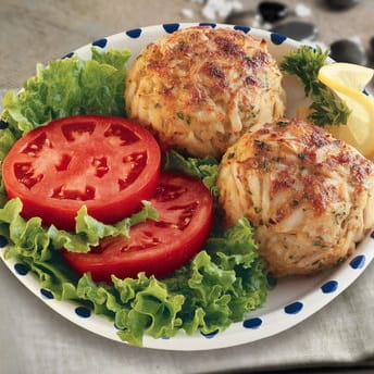 Crab Cakes with Chili Citrus Dressing