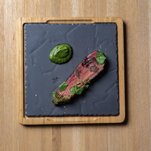 Slow Cooked Brazilian Style Picanha with Chimichurri Sauce