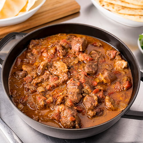 Slow Cooker Lamb Stew with Garam Masala