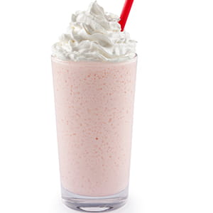 Strawberry Honey Milkshake