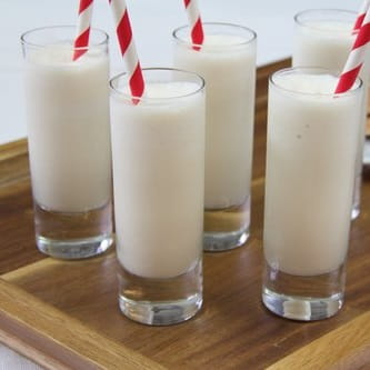 Vanilla Butterscotch Milk Shake Shooters